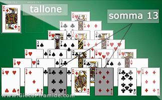 Giochi solitario piramide